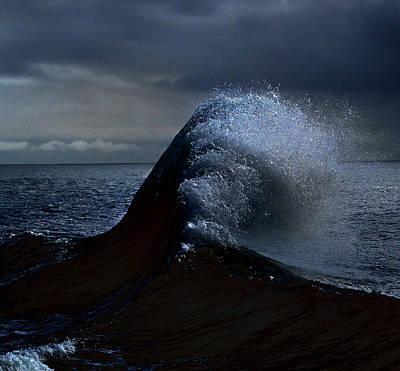 Photograph - Midnight Swim by Joe Schofield