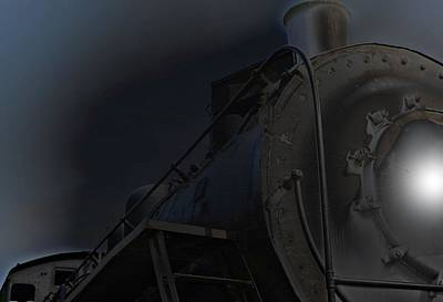 Photograph - Midnight Train by Nadalyn Larsen