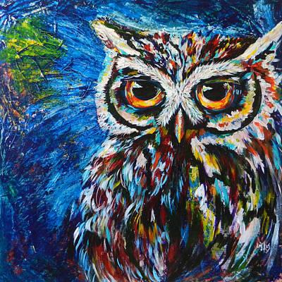 Midnite Owl Original by Lovejoy Creations