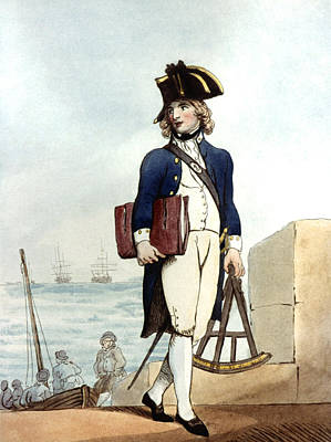 Painting - Midshipman, 1799 by Granger