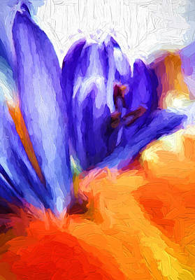 Midsummer Dream - Impasto Art Print by Steve Harrington