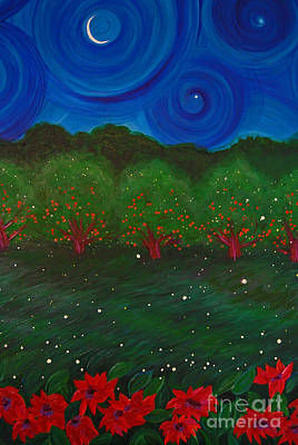Painting - Midsummer Night By Jrr by First Star Art