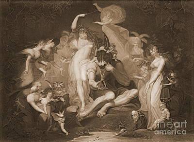 Midsummer Nights Dream 1796 Art Print by Padre Art