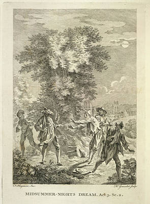 Midsummer Nights Dream Print by British Library