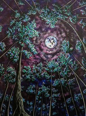 Painting - Midsummer Night's Dream by Joel Tesch
