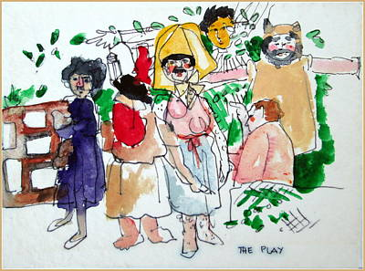 Midsummer Nights Dream The Play Art Print