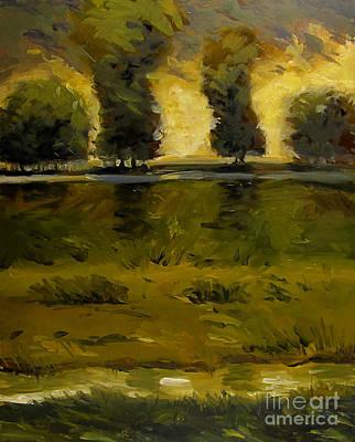Midsummer Sun Original by Charlie Spear