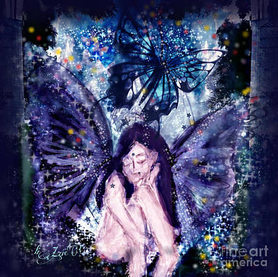 Digital Art - Midsummers Night Dream by Liz Campbell