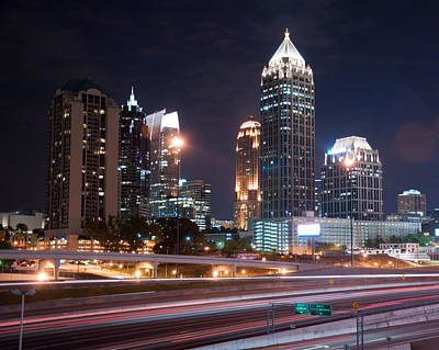 Photograph - Midtown Atlanta by Daryl Clark