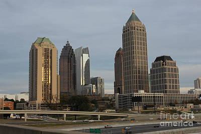 The Village Photograph - Midtown Atlanta by Reid Callaway
