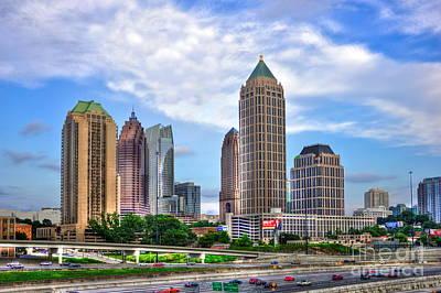 Midtown Atlanta Too Art Print by Reid Callaway