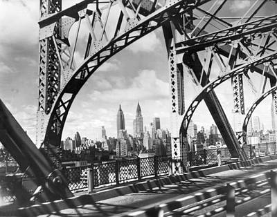 Photograph - Midtown Manhattan 1937 View by Underwood Archives