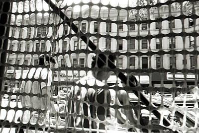 Blavk And White Photograph - Midtown Manhattan 1987 by Leonid Rozenberg