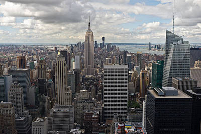 Photograph - Midtown Manhattan by Gary Eason