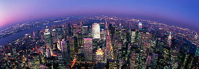 Curvature Photograph - Midtown Manhattan, New York, Nyc, New by Panoramic Images