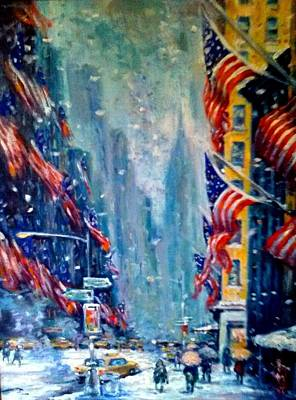 Painting - Midtown Manhattan by Philip Corley