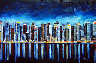 Midtown New York Art Print