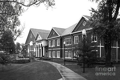 Midway College Anne Hart Raymond Center Print by University Icons