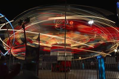 Funland Photograph - Midway Fun by J Scott Davidson