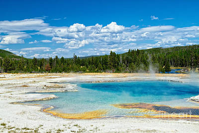 Photograph - Midway Geyser Basin II by Stuart Gordon