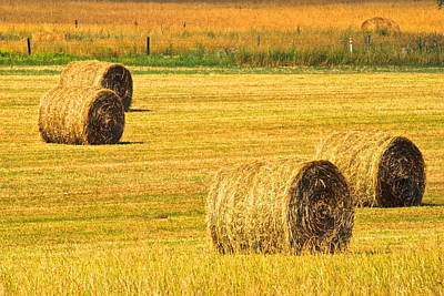 Photograph - Midwest Farming by Frozen in Time Fine Art Photography