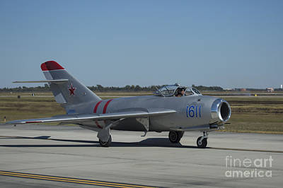 Photograph - Mig-17f 01 by D Wallace