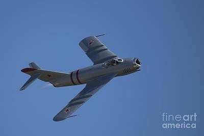 Photograph - Mig-17f 02 by D Wallace