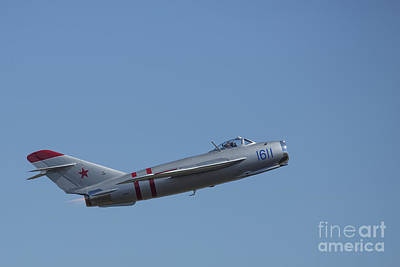 Photograph - Mig-17f 03 by D Wallace