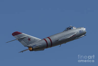 Photograph - Mig-17f 04 by D Wallace