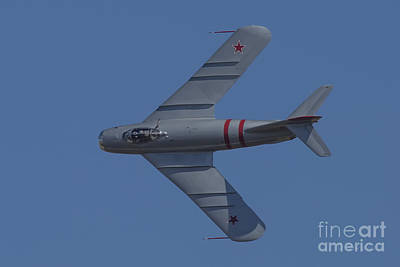 Photograph - Mig-17f 05 by D Wallace