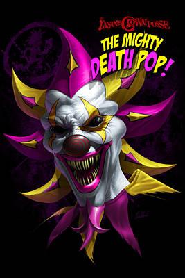Mighty Death Pop Print by Tom Wood