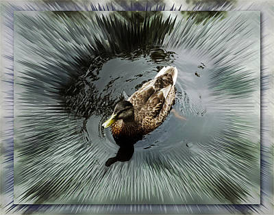 Photograph - Mighty Duck by Thomas  Jarvais