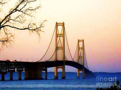 Photograph - Mighty Mac In Autumn by Desiree Paquette