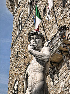 Photograph - Mighty Michelangelo's David by Brenda Kean