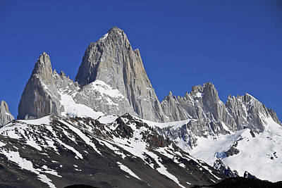 Photograph - Mighty Mount Fitz Roy by Michele Burgess