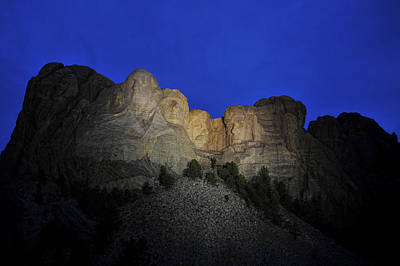 Photograph - Mighty Mount Rushmore by Keith Swango