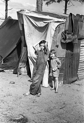 Migrant Children, 1937 Art Print