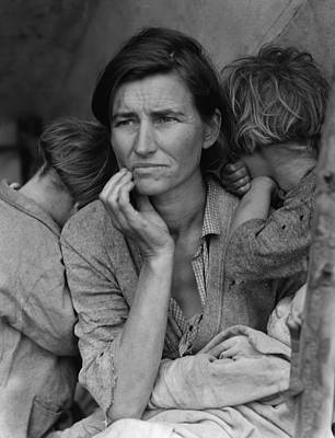Photograph - Migrant Mother by Historic Photos