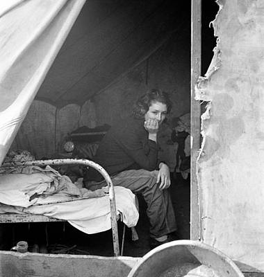Photograph - Migrant Worker, 1936 by Granger