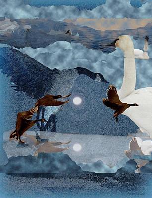 Migrations Art Print by Kathy Bassett