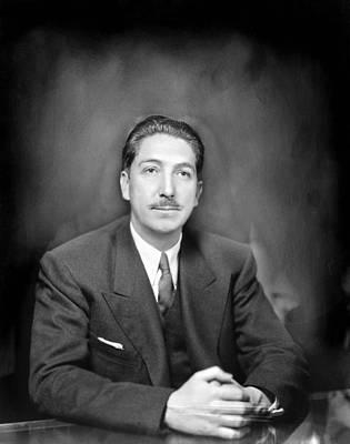 Miguel Alem�n (1900-1983) Art Print by Granger