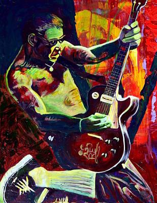 Mike Ness Art Print