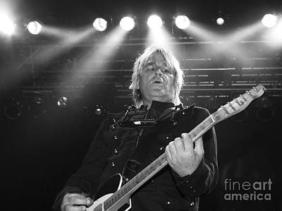 Photograph - Mike Peters The Alarm By Diana Sainz by Diana Raquel Sainz