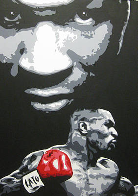 Painting - Mike Tyson 4 by Geo Thomson