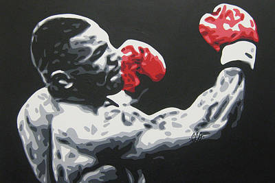 Painting - Mike Tyson 6 by Geo Thomson