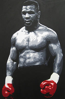 Painting - Mike Tyson 7 by Geo Thomson