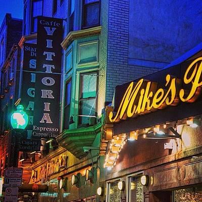 Restaurant Photograph - #mikespastry  #boston #restaurant by Joann Vitali