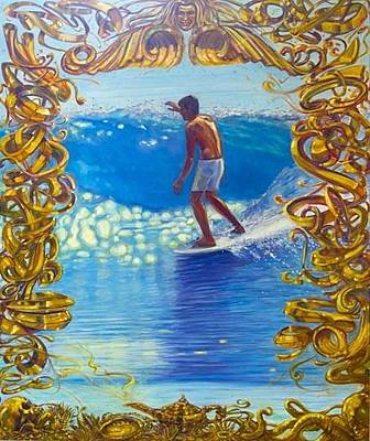 Miki Dora Original by Michael Knowlton