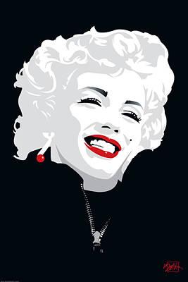 Miki Marilyn Art Print