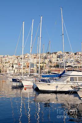 Greek Photograph - Mikrolimano Port by George Atsametakis